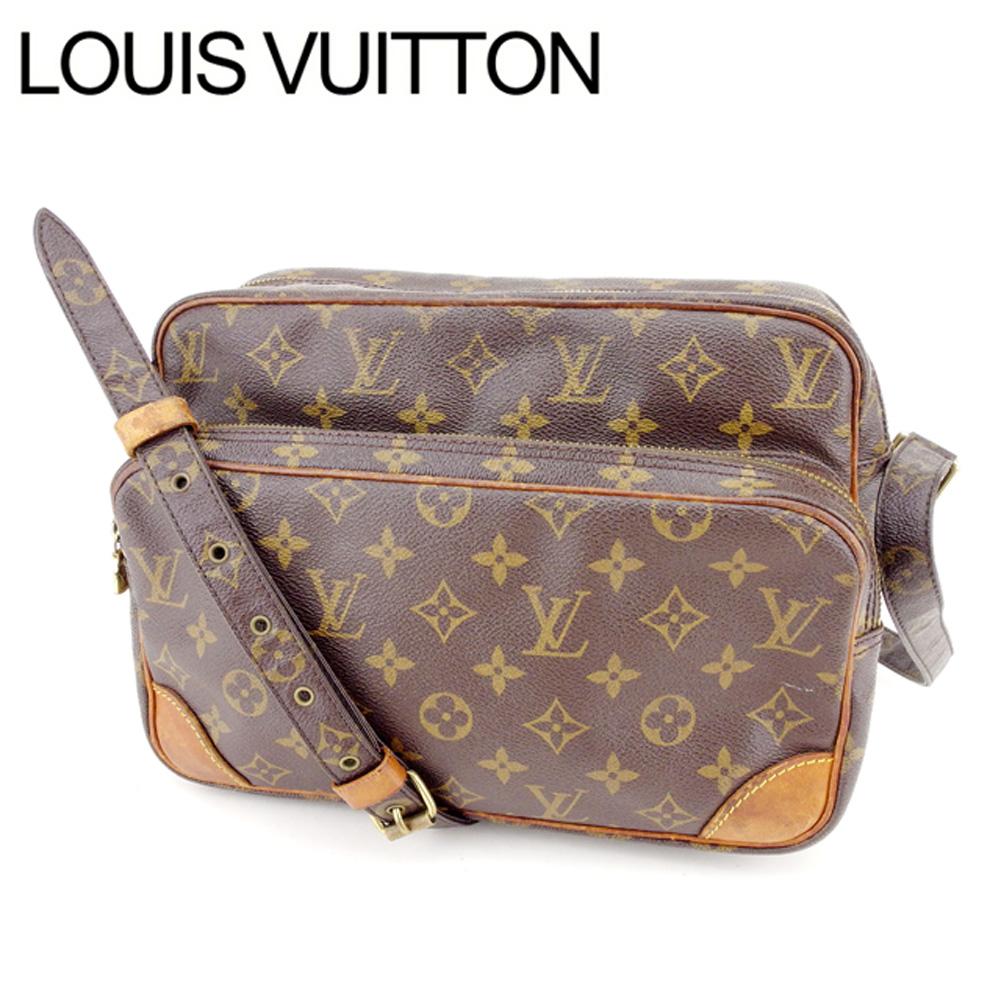 【中古】 ルイヴィトン Louis Vuitton ショルダーバッグ 斜めがけショルダー レディース ナイル モノグラム ブラウン モノグラムキャンバス 人気 Y3602