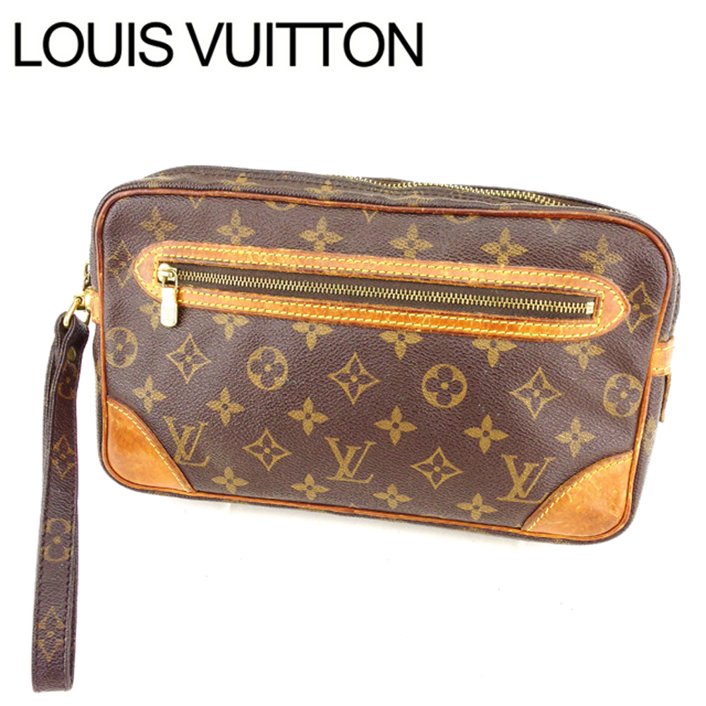 98ed0ced7e0f Louis Vuitton LOUIS VUITTON second bag clutch bag man and woman combined  use マルリードラゴンヌ GM monogram M51825 brown monogram canvas (correspondence) ...