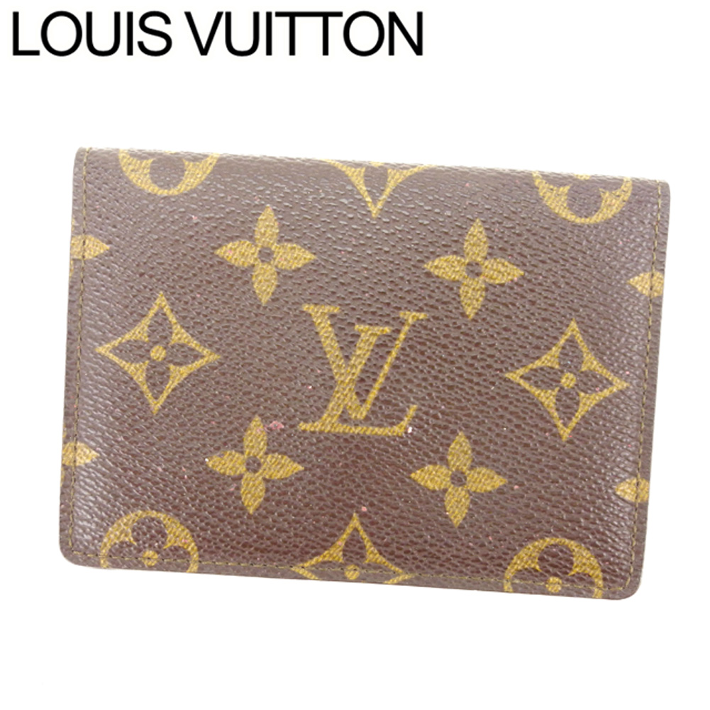 43cce0b1f5f2 中古】 ルイヴィトン Louis Vuitton 定期入れ /パスケース /メンズ可 ...