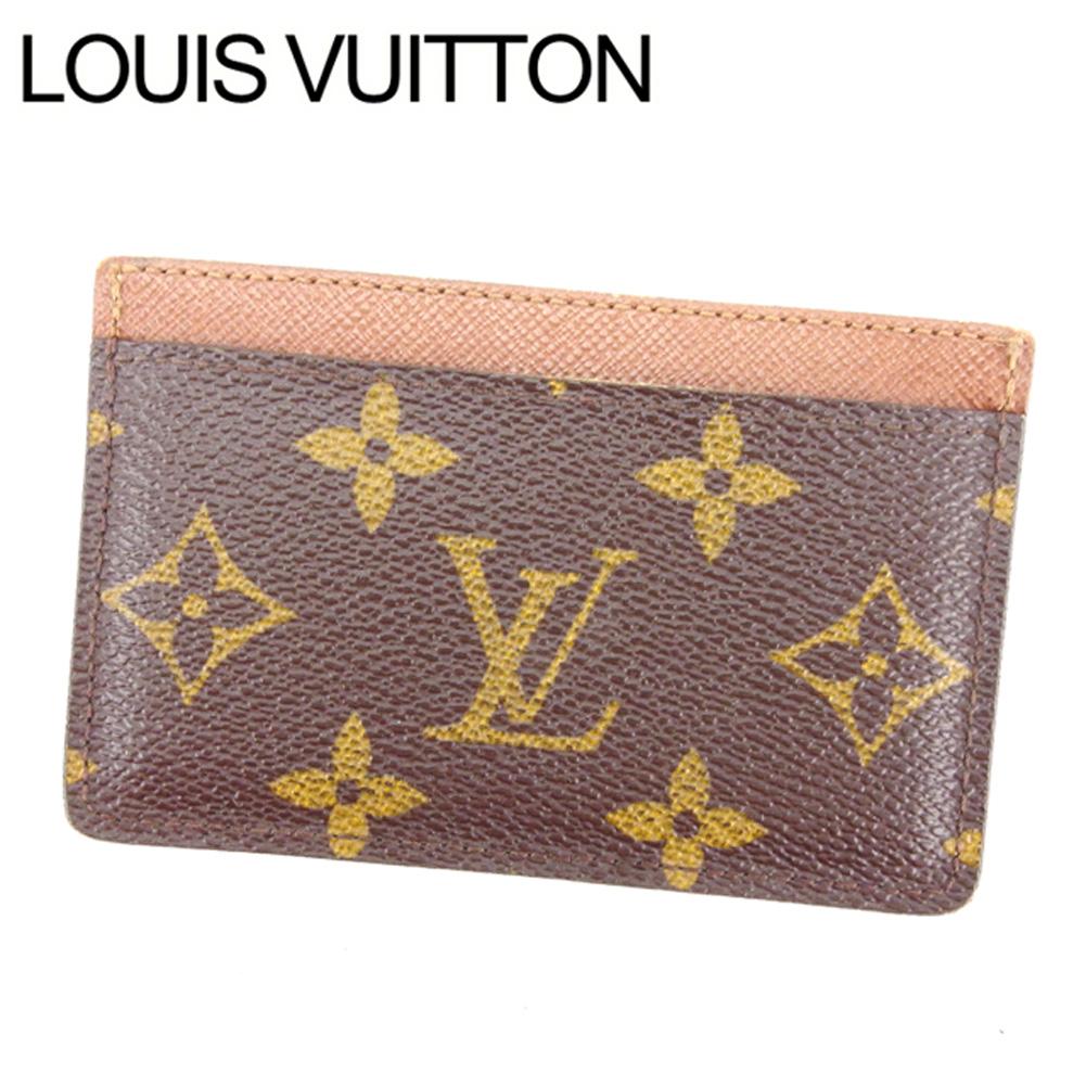 【中古】 ルイヴィトン Louis Vuitton 名刺入れ カードケース レディース ポルト カルト・サーンプル T14695 .