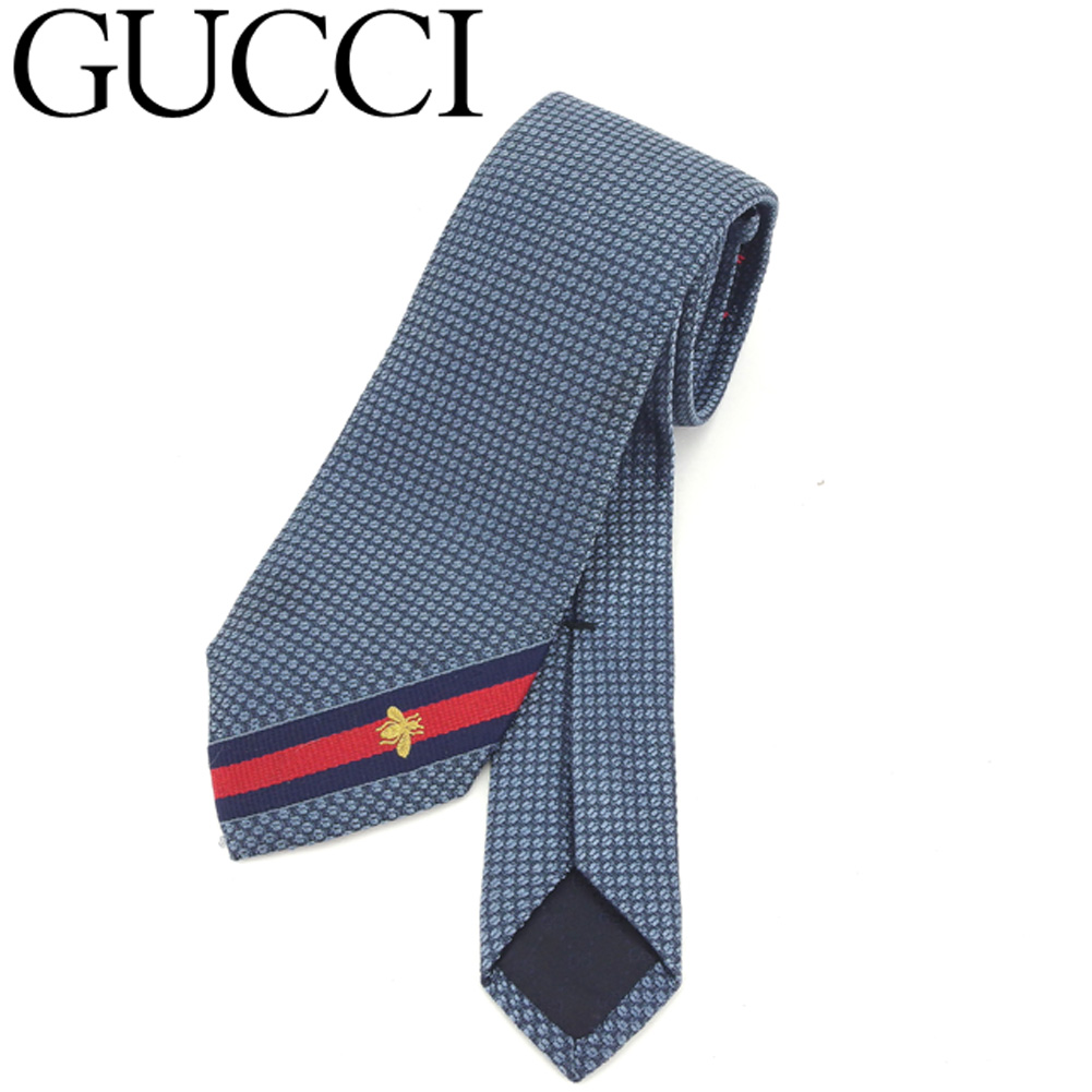 5b7efefecd1d Gucci GUCCI tie business men B blue popularity quality goods T8148 ...