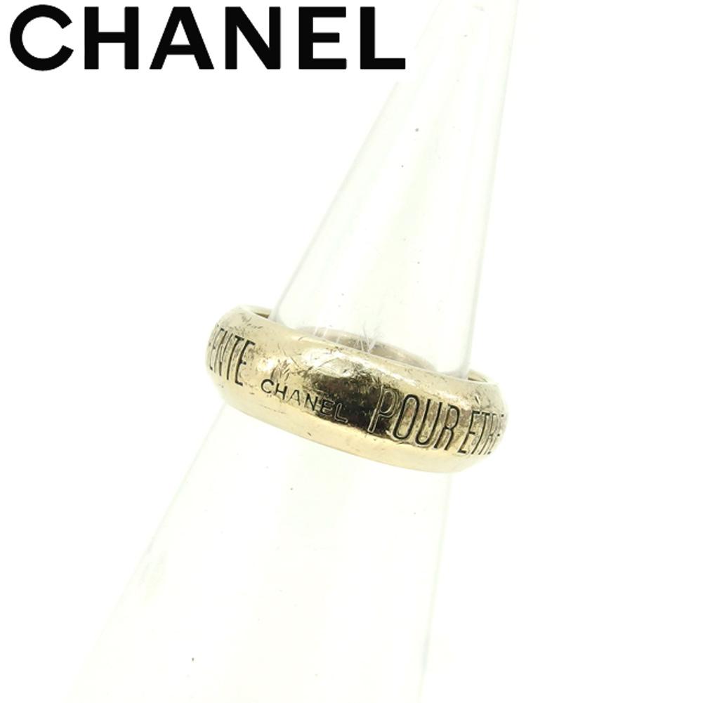 【中古】 シャネル CHANEL 指輪 リング レディース メンズ シルバー T8926 .