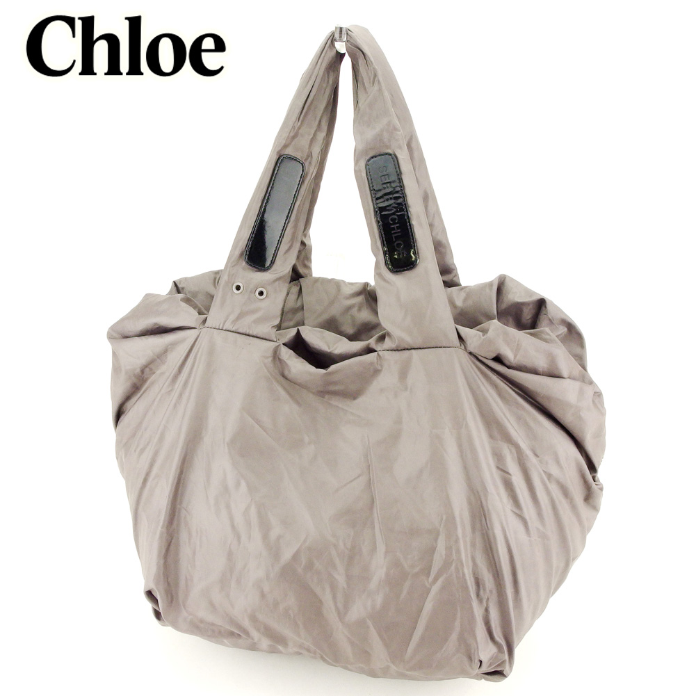 0215ba49342 Sea by Kuroe SEE BY CHLOE shoulder bag Boston bag, Mothers bag lady gray  gray ...