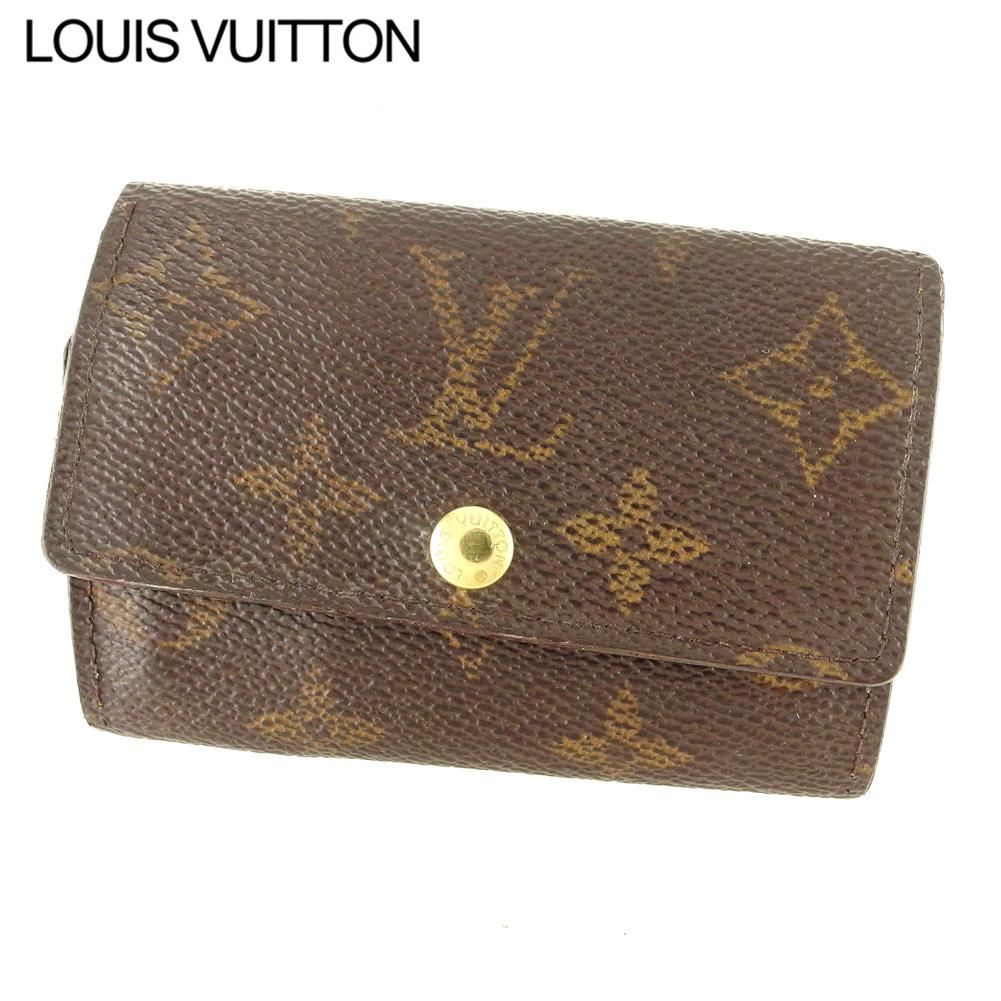【中古】 ルイ ヴィトン Louis Vuitton キーケース 6連キーケース レディース メンズ ミュルティクレ6 ブラウン モノグラムキャンバス Q579