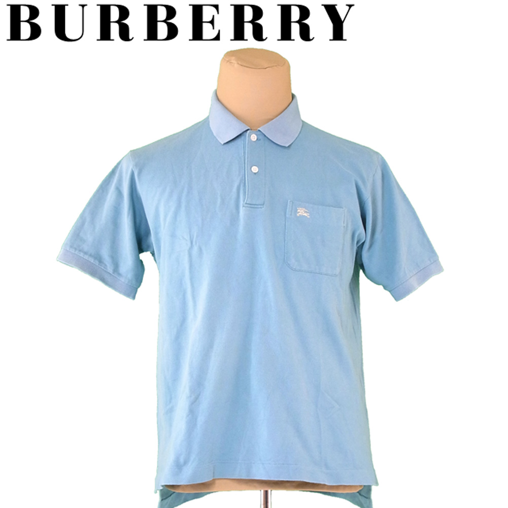 b262631d6e28 Burberry BURBERRY polo shirt short sleeves cut-and-sew men ♯ large size  hose ...