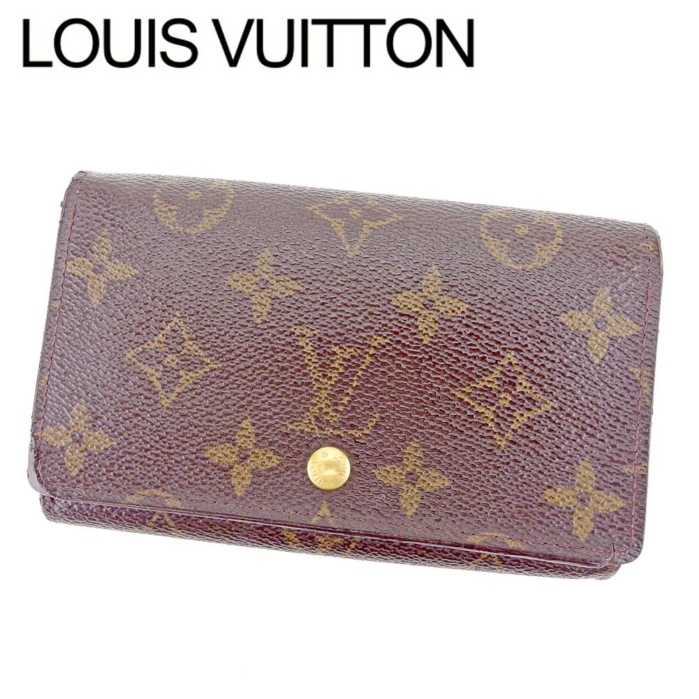 38353e61bf9e Louis Vuitton Louis Vuitton L-shape fastener wallet folio wallet  レディースメンズポルトモネビエトレゾールモノグラムブラウンモノグラムキャンバス popularity ...