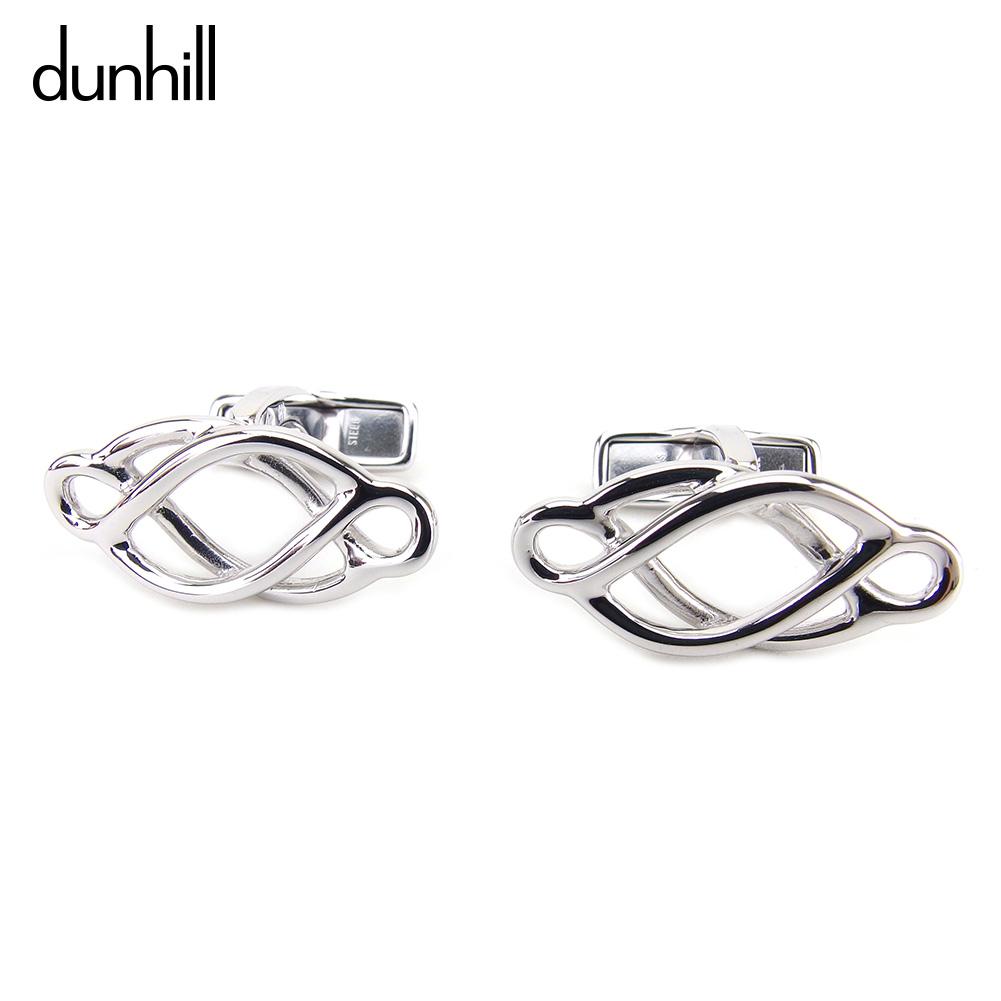 【中古】 ダンヒル dunhill スカーフ スウィヴル式 メンズ  シルバー シルバー 美品 セール T8833