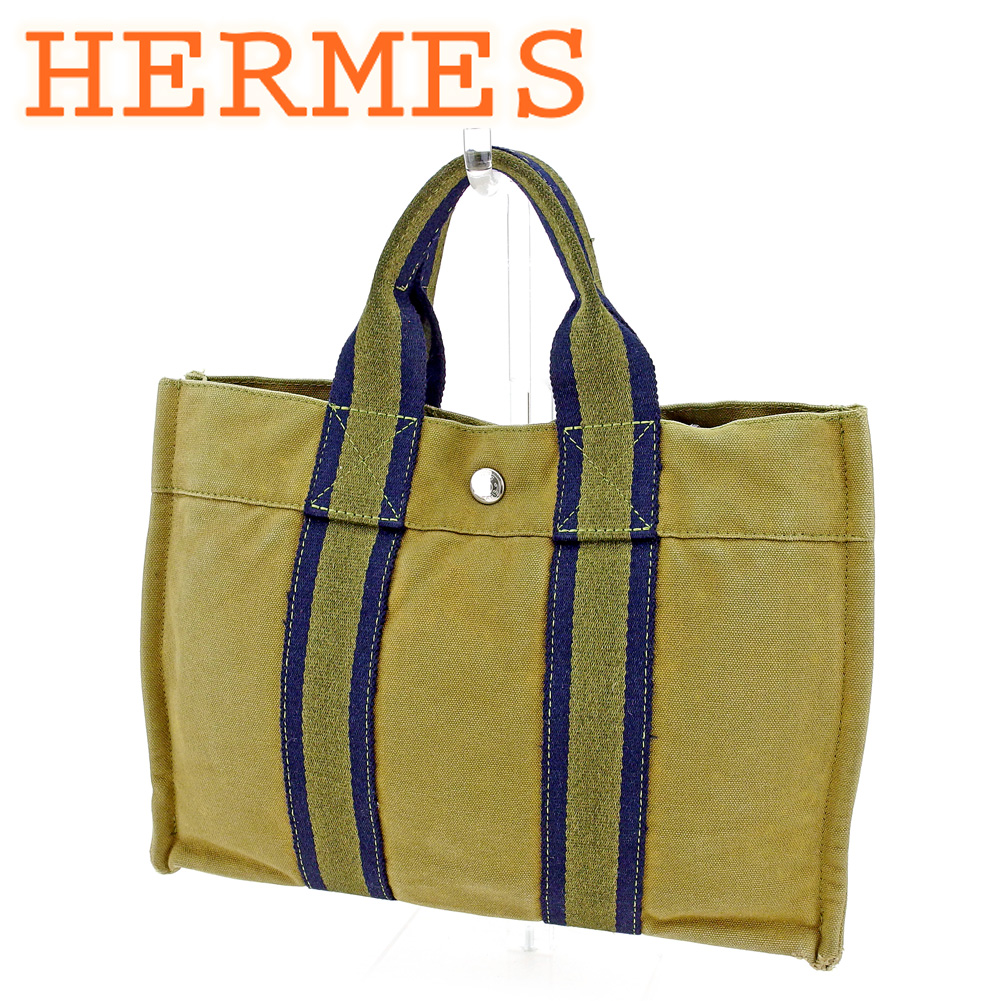 1f849896c63 100% of Hermes HERMES tote bag handbag Lady's men fool toe Thoth PM fool  toe ...