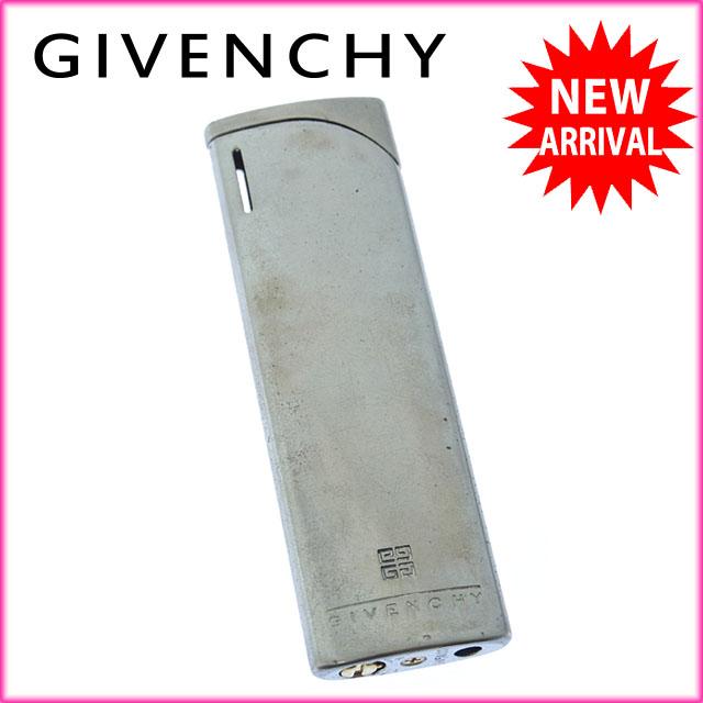 지방시 GIVENCHY 라이터 레이디스 맨즈가능 로고 GV5000 실버 실버 메탈(대응) 인기 F908
