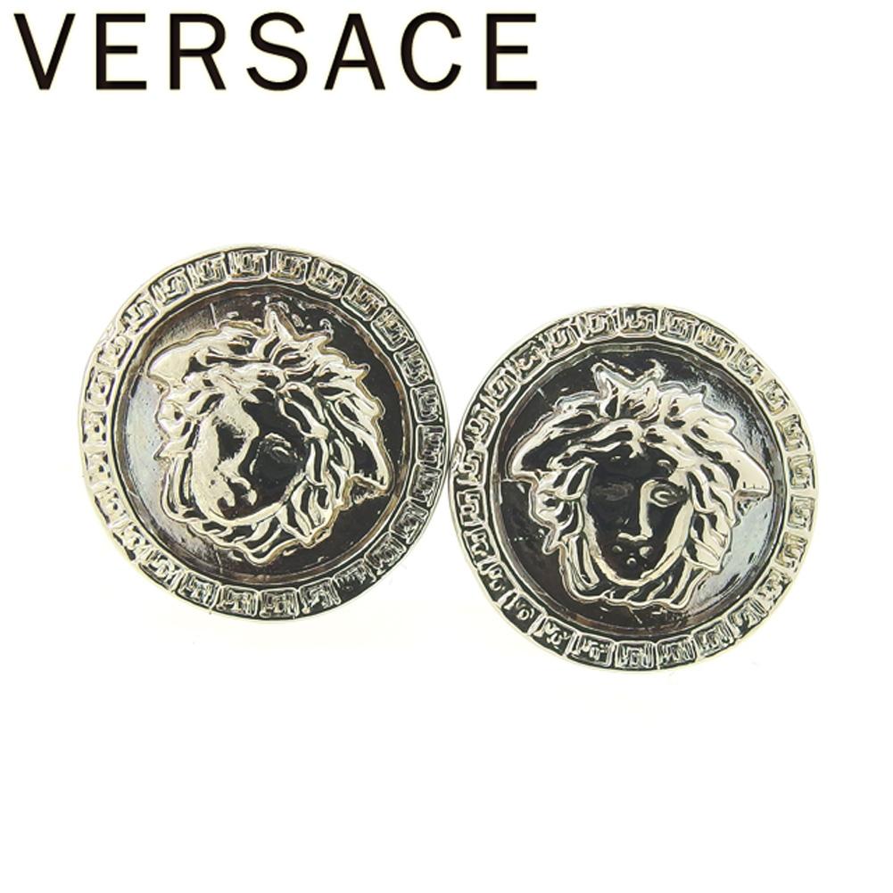 84643c255 Gianni Versace GIANNI VERSACE pierced earrings accessories Lady's men  Medusa silver silver metal fittings beauty product ...