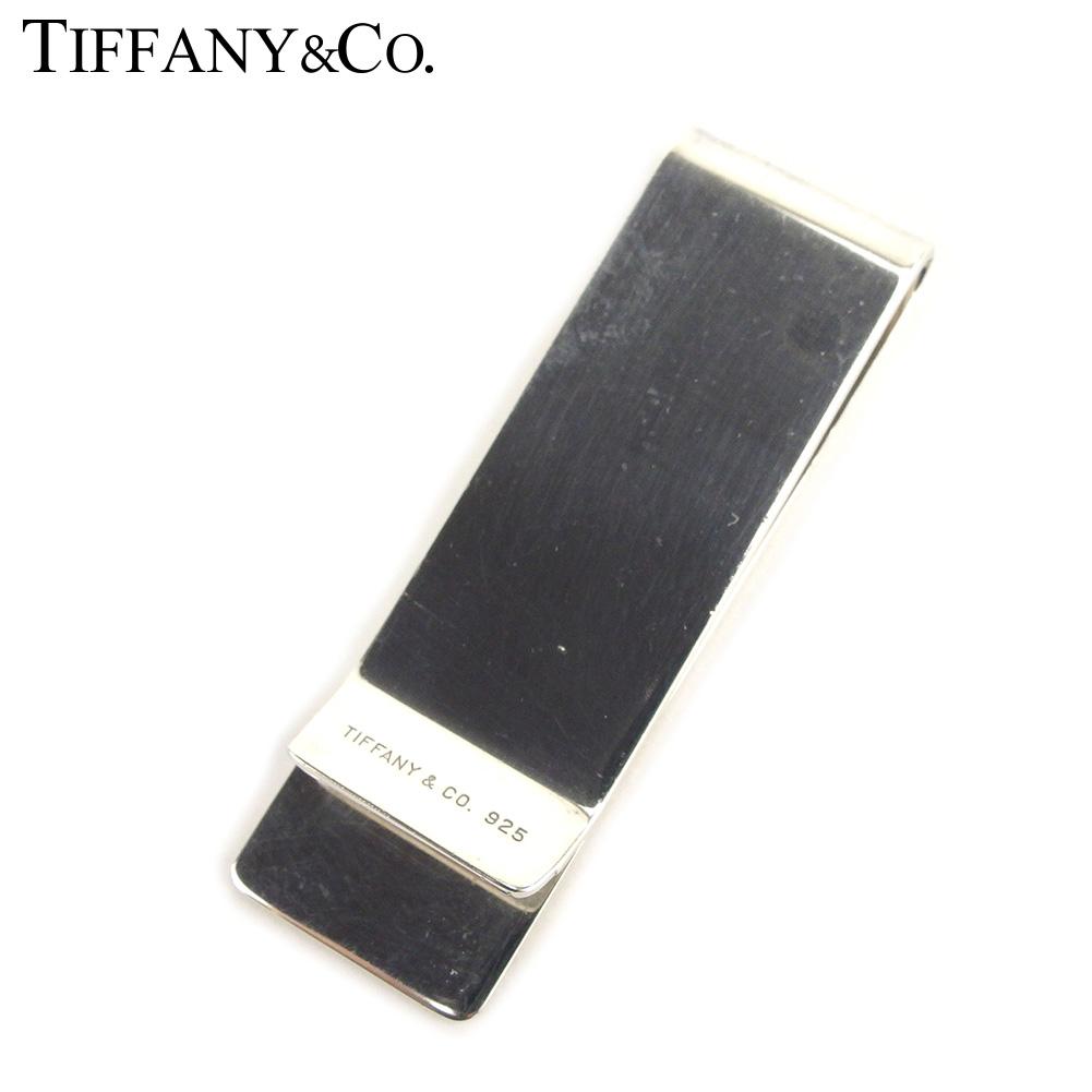 【中古】 ティファニー Tiffany&Co. マネークリップ 札ばさみ メンズ  シルバー シルバー925 人気 セール T8506 .