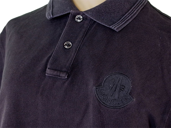 3e923852 ... 100% of Monk rail MONCLER polo shirt short sleeves men ♯ medium size  cock mark ...