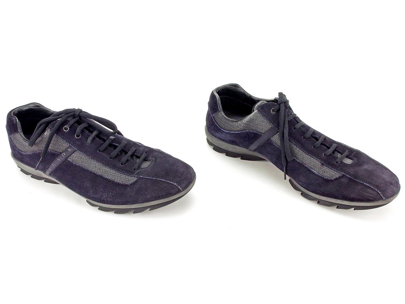 cf8a94404 ... inexpensive prada prada sneakers sports shoes shoes men black nylon x leather  popularity sale c2944 a6844
