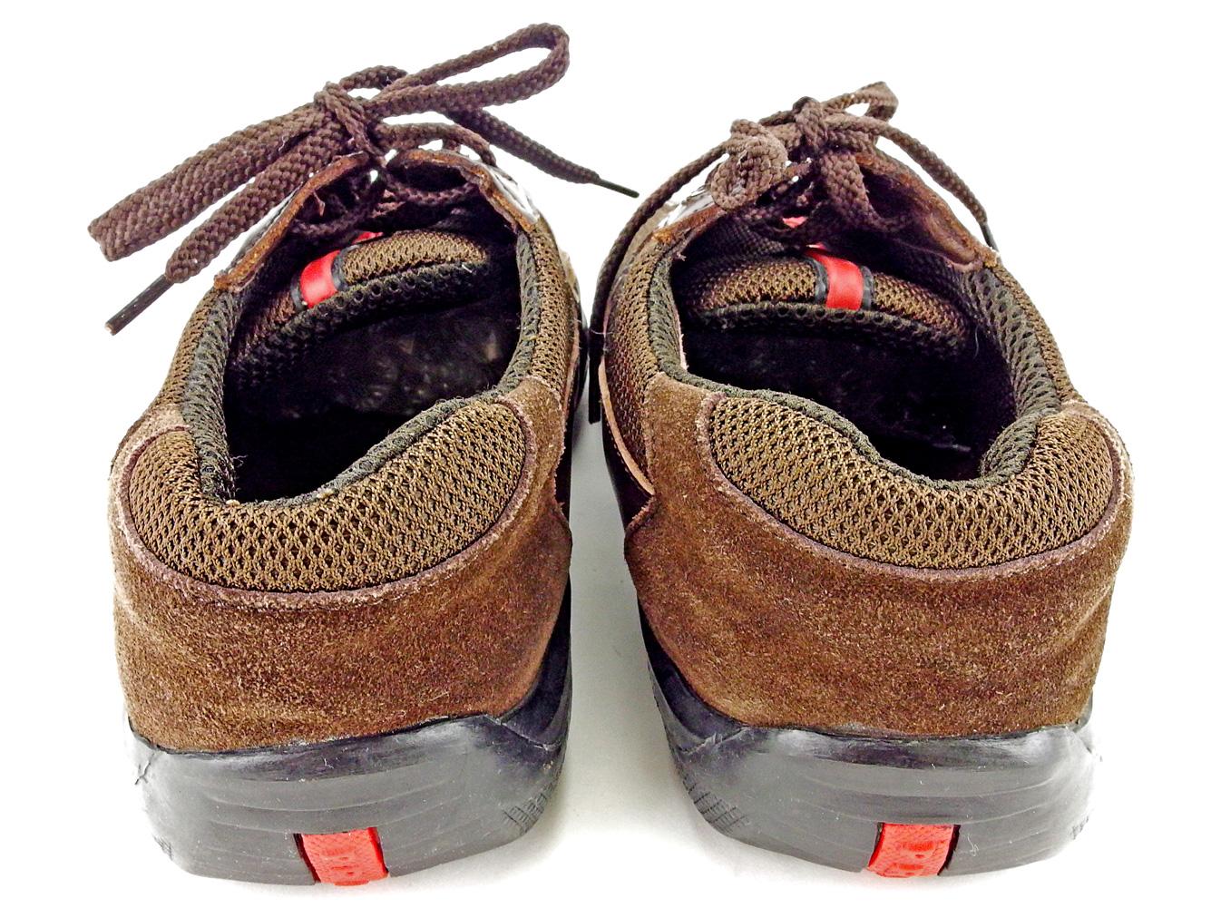 5af1fd637 ... Prada PRADA sneakers shoes shoes men ♯ 41 low-frequency cut sports line  brown X ...