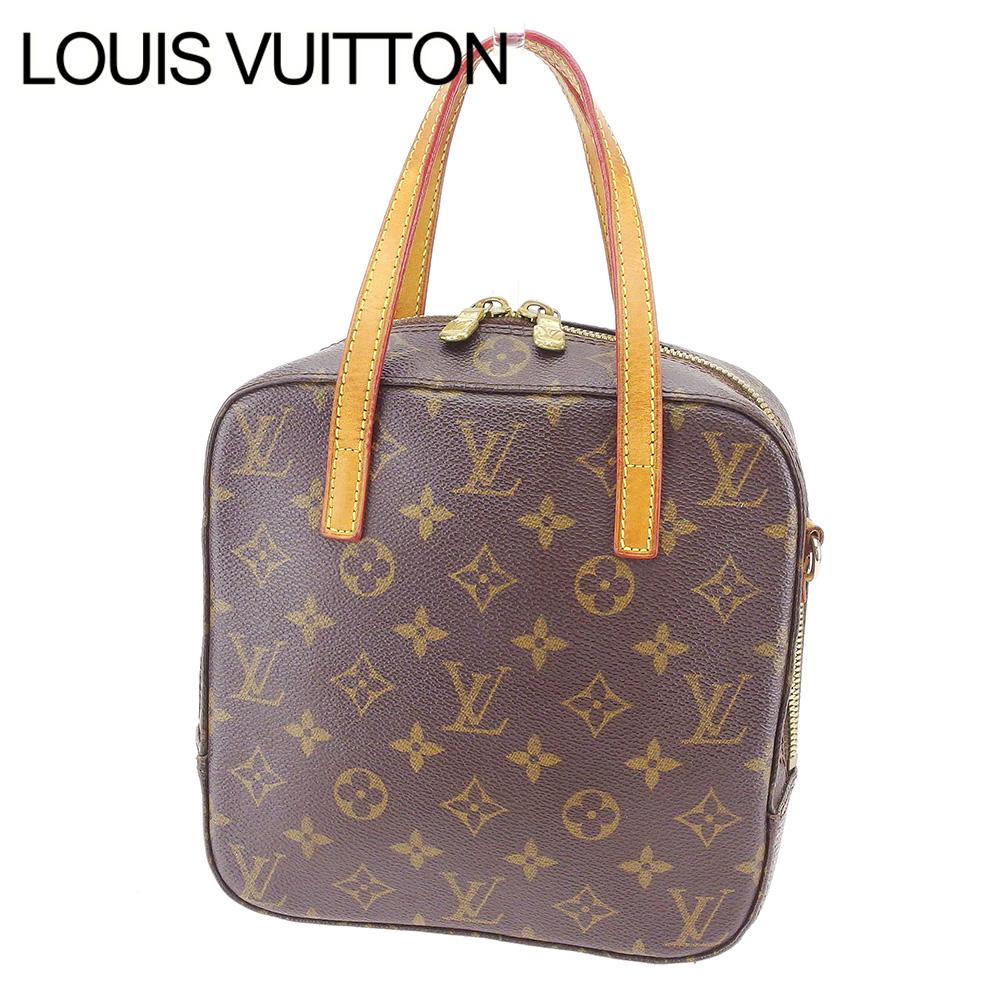 【中古】 ルイ ヴィトン Louis Vuitton ハンドバッグ レディース モノグラム ブラウン PVC×レザーハンドバッグ S739s .