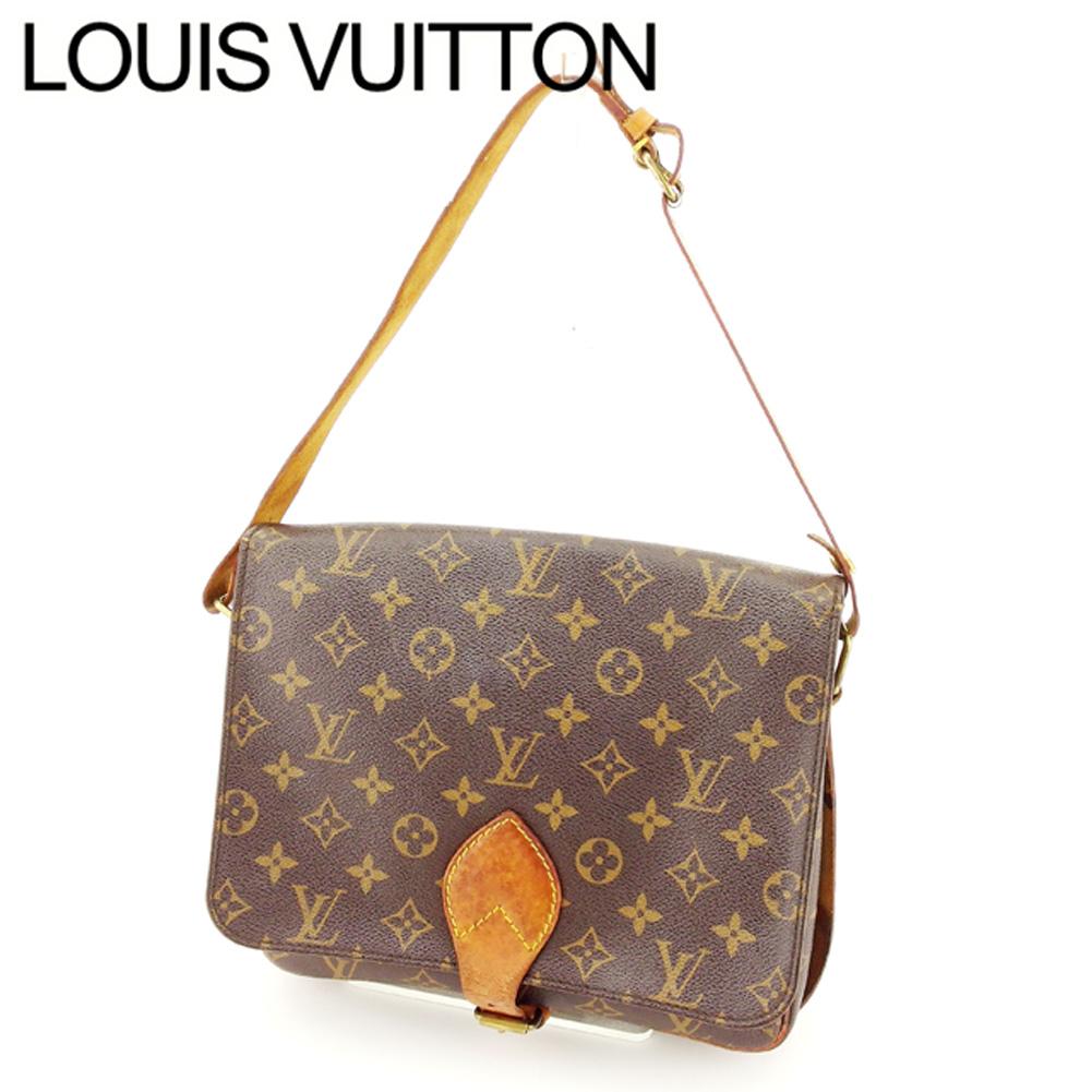 046c723590d T7584 which there is Louis Vuitton Louis Vuitton handbag shoulder bag men s  possible Cal Toshi yell monogram brown beige gold monogram canvas  discontinuance ...