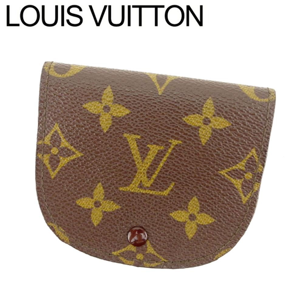 【中古】 ルイ ヴィトン Louis Vuitton コインケース 小銭入れ レディース メンズ ポルトモネグセ モノグラム ブラウン ベージュ モノグラムキャンバス 人気 良品 T7999 .