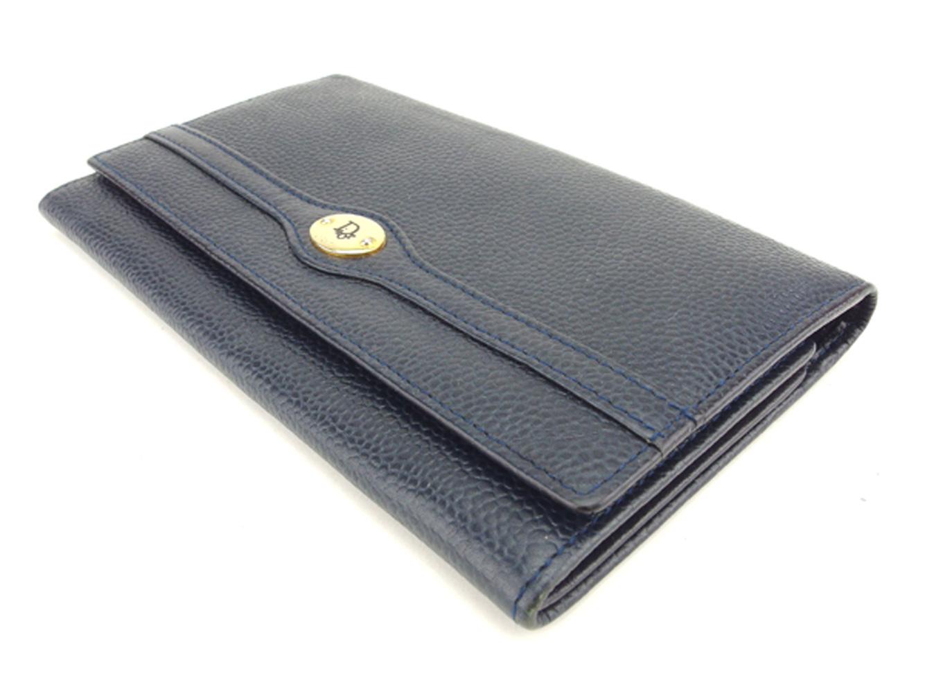 f20849ba9838 ディオール フルラ Dior 長財布 がま口 バッグ ファスナー付き 財布 ...