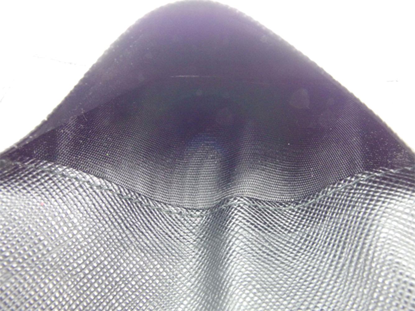 プラダ PRADA キーケース 6連キーケース レディース メンズ ブラック シルバー サフィアーノレザー T8091 A0PNymnv8wO