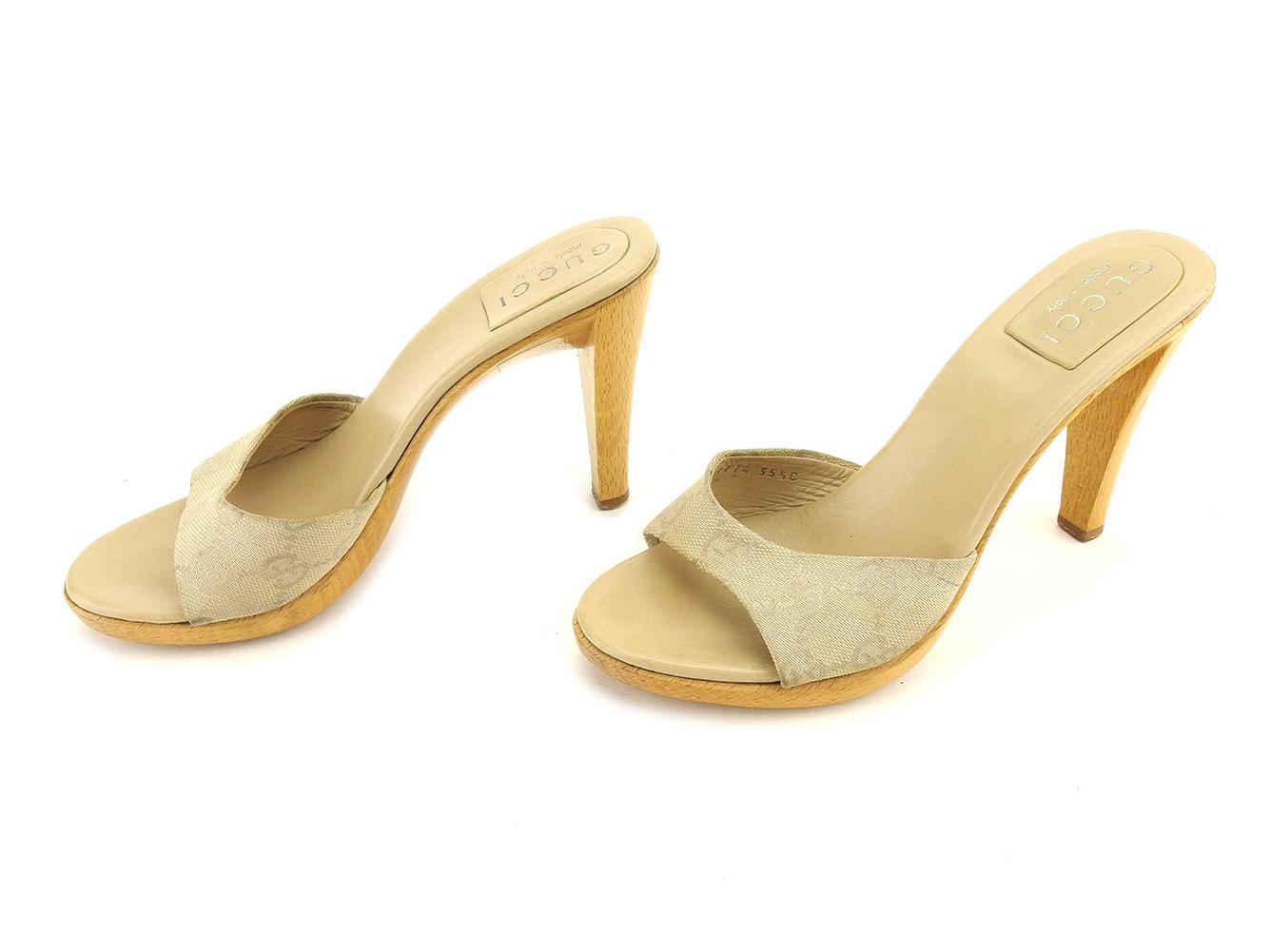 780ae37b BRAND DEPOT: Gucci mule shoes shoes beige T6120s | Rakuten Global Market