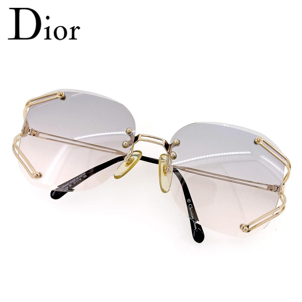 ca03d1741303 Dior Dior sunglasses glasses lady's men's possible gold black sunglasses  T6634s. ...