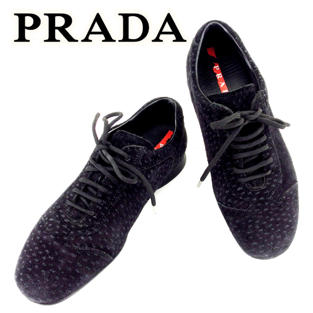 reputable site 48d38 46ec5 Prada PRADA sneakers shoes shoes Lady's #35 Brach's aide popularity sale  T6731