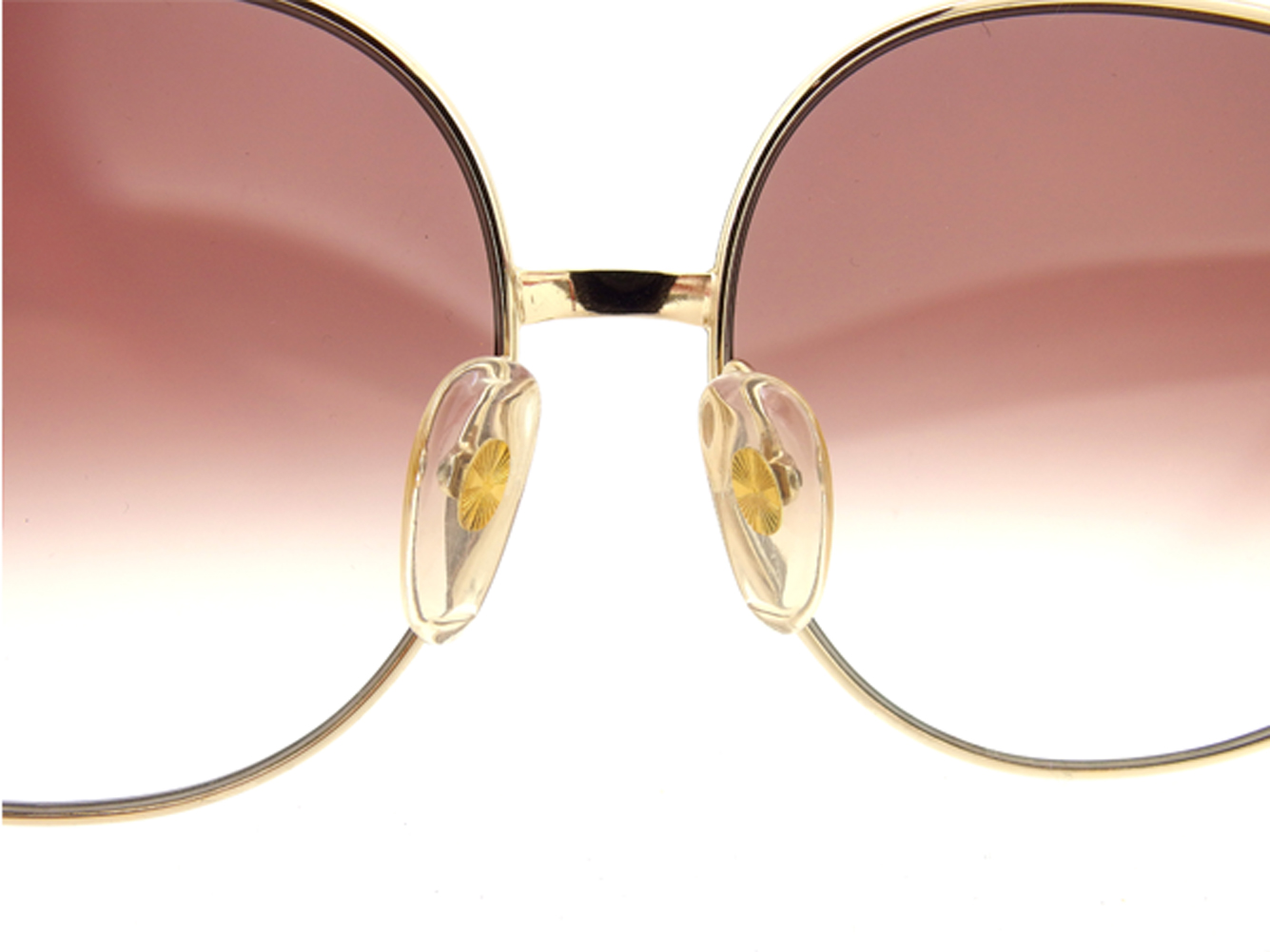 3d820bf720 Dior Dior sunglasses glasses eyewear Lady s vintage gradation red gold  brown plastic X gold metal fittings beauty product sale T7053