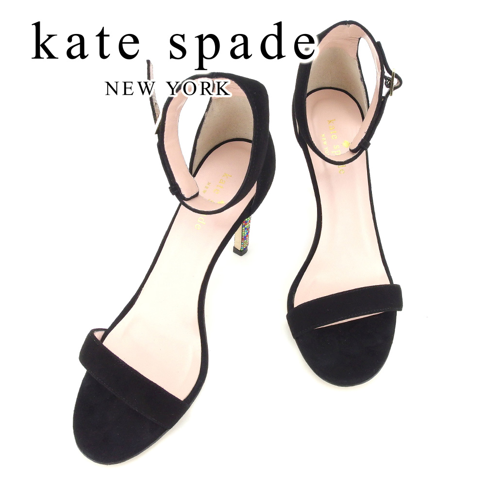 f5a75bf2016ad5 Kate spade kate spade sandals shoes shoes Lady s rhinestone Brach s aide  sandals T7283s