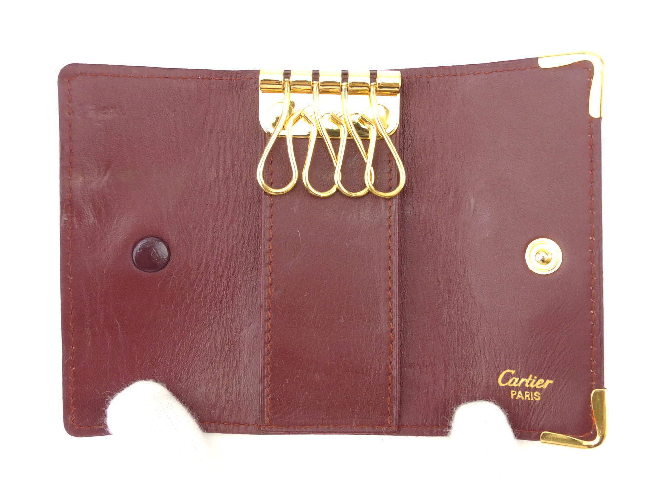 4534c6b69c76 フェンディ カルティエ Cartier キーケース 4連キーケース ...