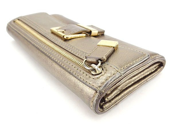 aec13e3e5a508c Sale T823 which there is long wallet Lady's belt design gold system leather  reason with the Michael Kors MICHAEL KORS long wallet fastener in