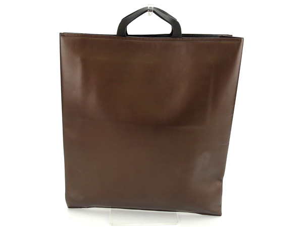 b0559015ca08 ... Gucci by GUCCI handbags men allowed bronze / brown leather popular sale  C2510 ...