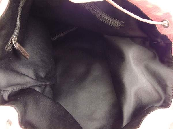 e7f00d5c52f1 Yves Saint-Laurent YVES SAINT LAURENT tote bag shoulder bag Lady s Kahara  dot pink X white X silver canvas X leather (correspondence) popularity G1010