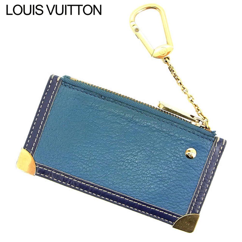 【中古】 【送料無料】 ルイヴィトン コインケース /キーリング レディース スハリ ブルー Louis Vuitton D956 .