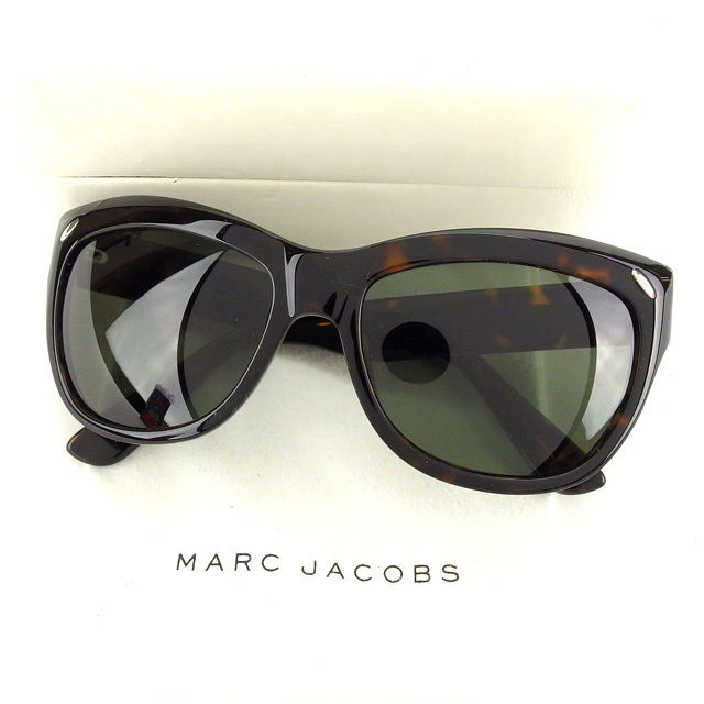 f33cc19bb5 Marc Jacobs MARC JACOBS sunglasses side logo into women s Butterfly  tortoiseshell pattern MJ044 S 086H9 clear black x Brown x silver plastic  with beauty ...