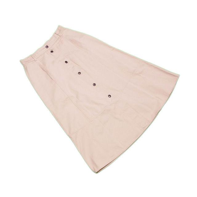 【中古】 マックスマーラ MaxMara スカート フレアー レディース ウィークエンドライン ベージュ C 100% L2164