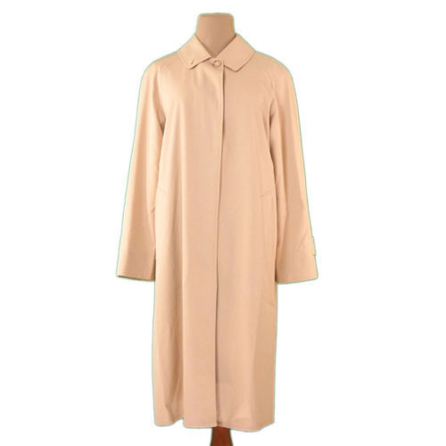 【中古】 【送料無料】 バーバリー BURBERRY コート シングル ロング レディース ♯38サイズ ステンカラー ベージュ 綿/100%(背裏)綿(袖裏)キュプラ 良品 L2201s .