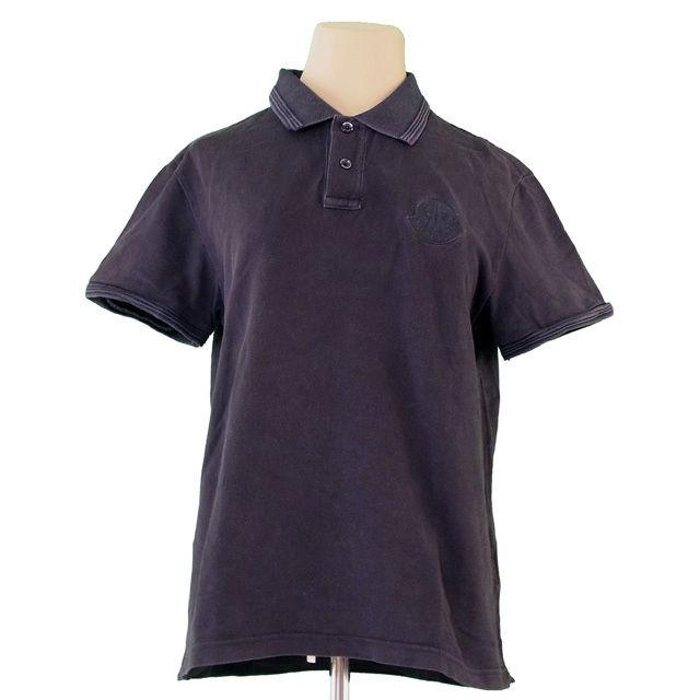 79f18a47 100% of Monk rail MONCLER polo shirt short sleeves men ♯ medium size cock  mark ...