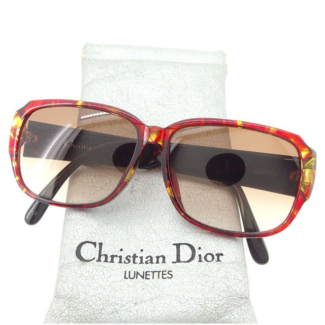 700d453811 Dior Dior sunglasses glasses lady s men s possible side CD mark  tortoiseshell pattern frame clear brown X black system plastic popularity  sale T1738