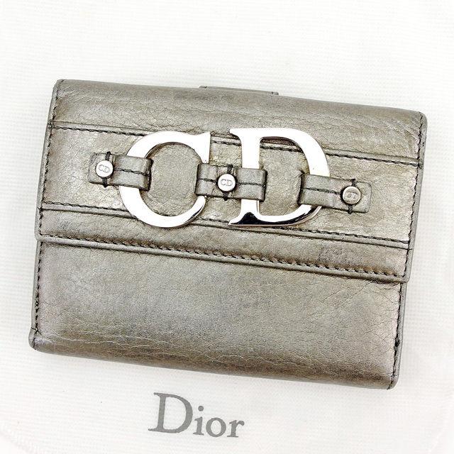 dc85abd5e8cf メンズ レディース 二つ折り財布 財布 Wホック財布 Dior ディオール ...