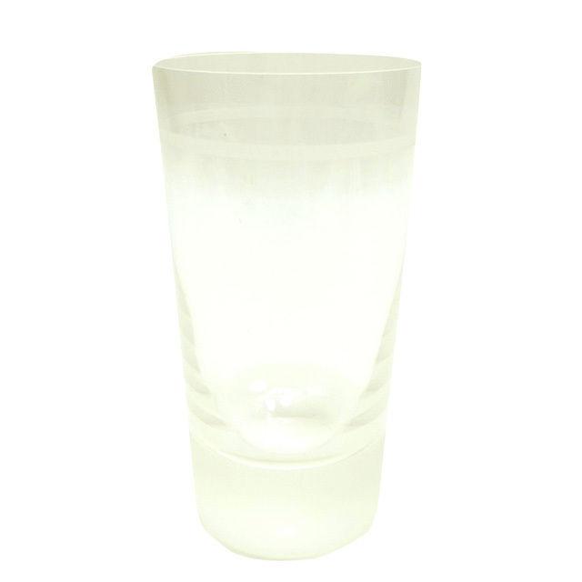 【中古】 【送料無料】 ブルガリ グラス 花瓶 レディース メンズ 可 Bvlgari T468 .
