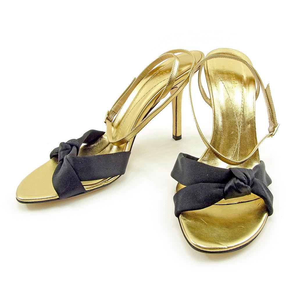 fad3fc7f95a1 BRAND DEPOT  Kate spade sandals  10B black X gold T3753s