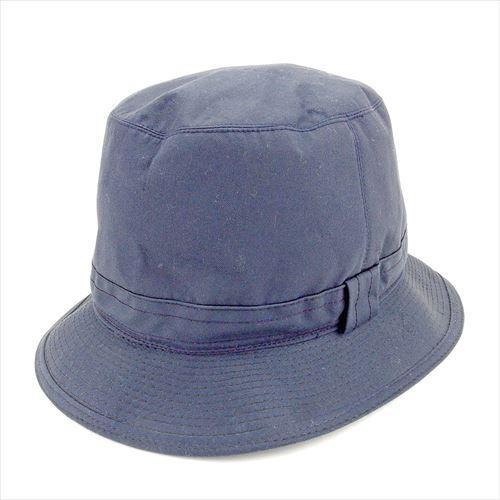 【中古】 【送料無料】 バーバリー 帽子 ♯7ハーフ 59サイズ レディース メンズ 可 ハット ネイビー キャンバス Burberry T5582 .