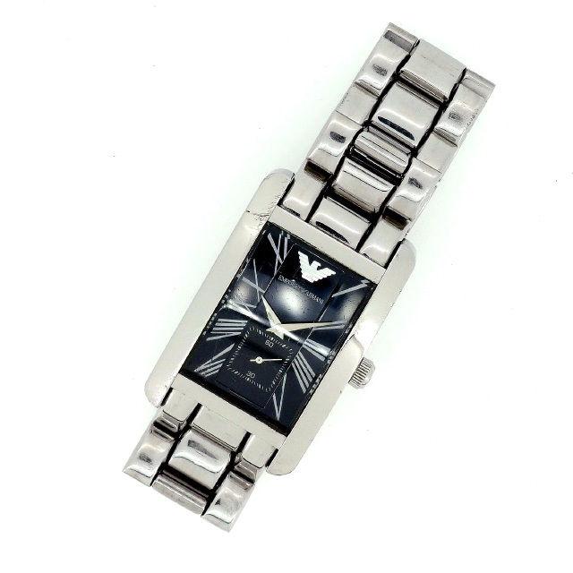 【中古】 【送料無料】 アルマーニ 腕時計 レディース シルバー Armani Y1232 .