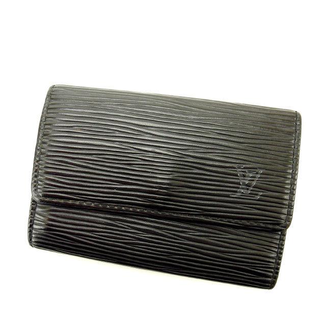 【中古】 【送料無料】 ルイヴィトン Louis Vuitton キーケース /メンズ可 /ミュルティクレ6 エピ M63812 ノワール(黒) エピレザー (あす楽対応)人気 激安 Y1497 .
