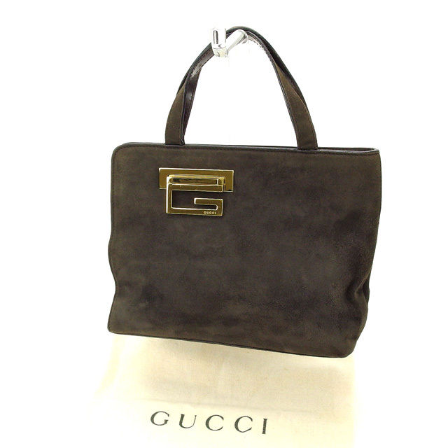 【中古】 【送料無料】 グッチ ハンドバッグ レディース ブラウン Gucci Y1709 .