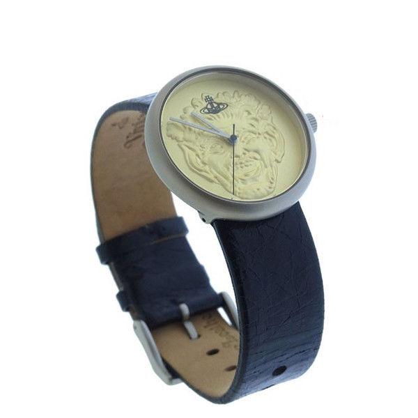 【中古】 【送料無料】 ヴィヴィアン ウエストウッド 腕時計 ファッションアイテム レディース オーブ ラウンドフェイス ゴールド×シルバー×ブラック Vivienne Westwood Y1924 .