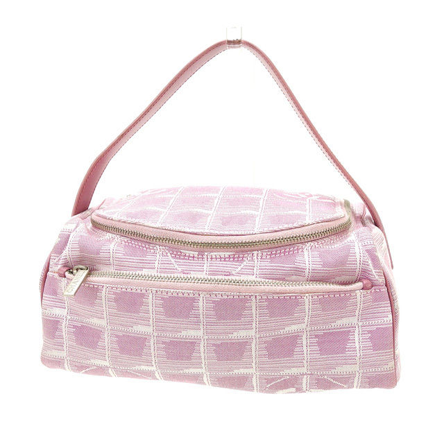 【中古】 【送料無料】 シャネル ハンドバッグ レディース ニュートラベルライン ピンク Chanel Y2056 .