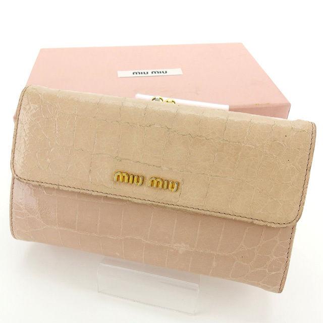 aa6e663cbd71 送料無料 フルラ】 バッグ ミュウミュウ miumiu 長財布 がま口 ブランド ...