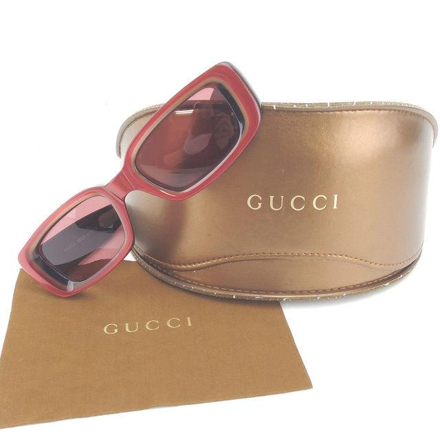 【中古 Gucci】【送料無料】 サングラス グッチ サングラス レッド×ブラック Gucci Y4368 Y4368 ., カオン:ed0b98d8 --- officewill.xsrv.jp