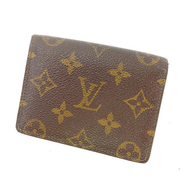 【中古】 【送料無料】 ルイヴィトン Louis Vuitton カードケース パスケース メンズ可 ジャポンサンガプール モノグラム M60530 ブラウン PVC×レザー (あす楽対応)人気 Y4411 .
